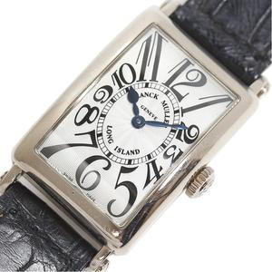 Franck Muller FRANCK MULLER Long Island 902QZ WG Solid Silver Quartz Ladies Watch