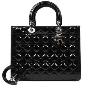 Christian Dior Large VRB44561 Black Handbag Ladies
