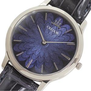 Seiko SEIKO Credor Cygno GBAQ961 6870-00H0 WG Solid Cloisonne Hand-wound Men's Watch