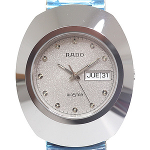 RADO Rado Men's Watch Diaster Day Date 114.0391.3 Gray Dial Quartz