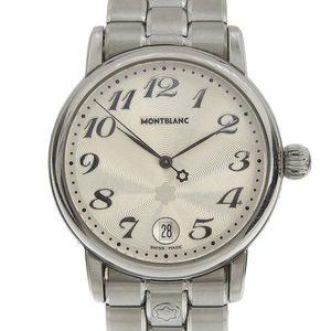 Genuine MONTBLANC Montblanc Meister Steck Men's Quartz Wrist Watch 7042