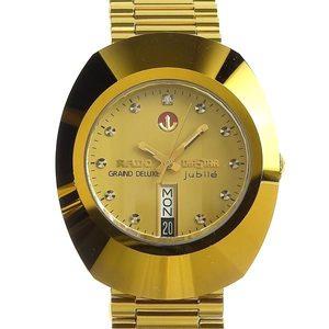 Genuine RADO Rado Diaster 1P Diamond Day Date Mens Automatic Watch 648.0413.3
