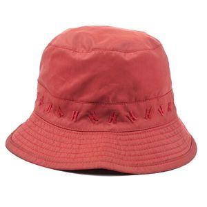 Hermes HERMES France made H logo bucket hat 59 red mens