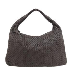 Bottega Veneta BOTTEGA VENETA Intrecciato One Shoulder Bag Brown 115654