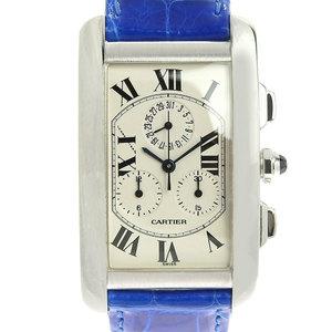 Cartier CARTIER Tank American Chrono Reflex Men's Quartz Watch W2605956