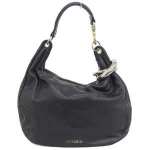 Jimmy Choo One Shoulder bag Leather Black