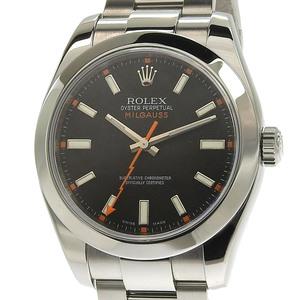 Rolex ROLEX Milgauss Men's Automatic Watch 116400 M number