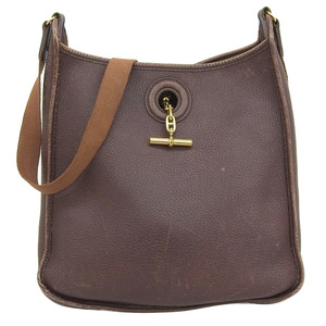 Hermes Vespa PM Shoulder bag Leather Brown