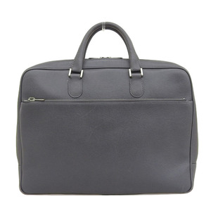 Valextra VALEXTRA current sale product calfskin leather briefcase gray business bag A4OK reference price 340000 yen Commuter