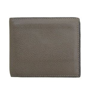 Valextra Leather Folded Wallet Dark Brown Card Holder x 8 2