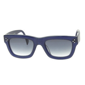 Celine CELINE Phoebe Period Cell Frame Sunglasses Navy 3 Dot Temple Ladies