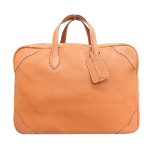 Hermes HERMES France made Victoria 45 Triyon Clements travel bag Boston handbag all leather