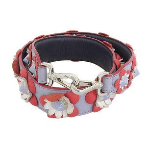 Fendi FENDI 2016 product strap you flower floral spike studs shoulder red