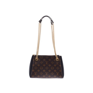 Louis Vuitton Monogram Serenne BB Black M43775 Ladies Genuine Leather Chain Shoulder Bag New Beauty Goods LOUIS VUITTON Used Ginzo