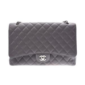 シャネル(Chanel) シャネル マトラッセ チェーンショルダーバッグ シングルタイプ グレー SV金具 レディース キャビアスキン ABランク CHANEL ギャラ 中古 銀蔵