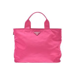 Prada 2WAY Tote Bag Pink BN2867 Ladies Nylon Handbag