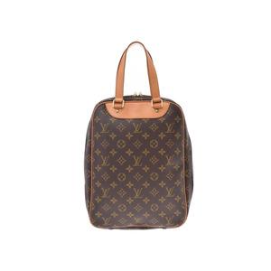 ルイ・ヴィトン(Louis Vuitton) ルイヴィトン モノグラム エクスカーション ブラウンM41450 メンズ レディース 本革 シューズバッグ Bランク LOUIS VUITTON 中古 銀蔵