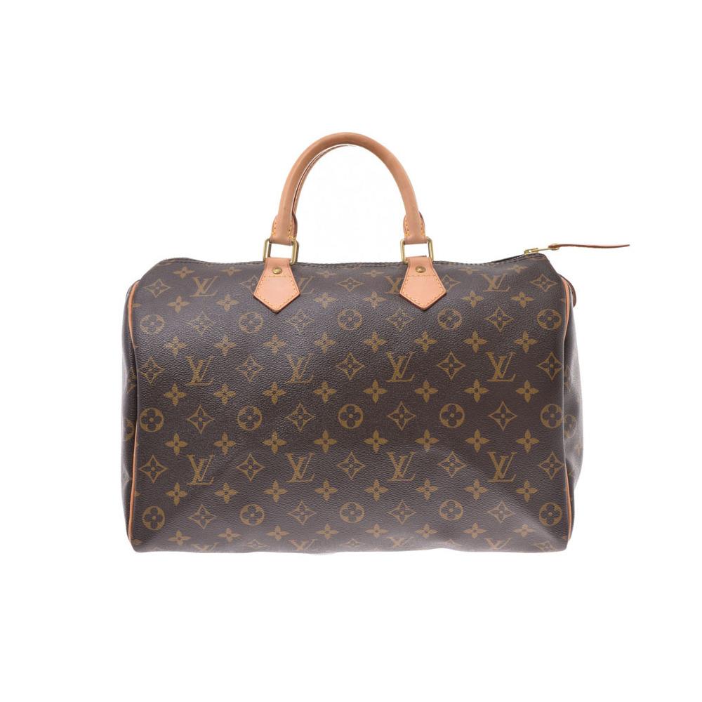 ルイ・ヴィトン(Louis Vuitton) ルイヴィトン モノグラム スピーディ35 ブラウン M41524 レディース 本革 ハンドバッグ ABランク LOUIS VUITTON 中古 銀蔵