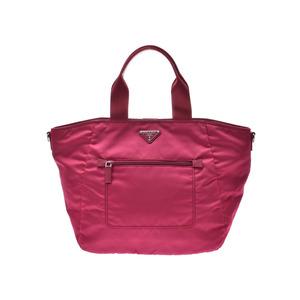 Prada 2WAY Tote Bag Pink BR5137 Ladies Nylon