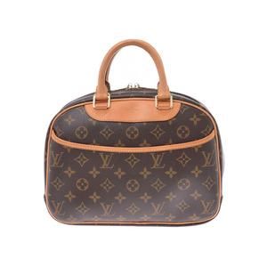 ルイ・ヴィトン(Louis Vuitton) ルイヴィトン モノグラム トゥルーヴィル ブラウン M42228 レディース メンズ 本革 ハンドバッグ Bランク LOUIS VUITTON 中古 銀蔵
