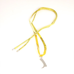 Hermes Tourbillon Choker Necklace Silver Yellow Boots Design Ladies Accessories Popular