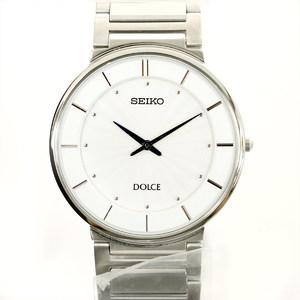 Seiko SEIKO Dolce 4J40-0AC0 Automatic winding white dial 2-needle men's watch