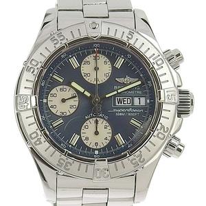 BREITLING Breitling Super Ocean Men's Automatic Watch Black Dial A13340