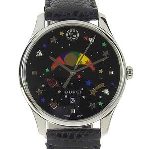 Gucci G timeless moon phase boys quartz watch 126.4
