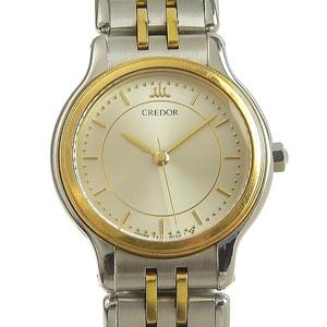 SEIKO Seiko Credor Ladies Quartz Watch Combi 44.3g