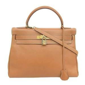 HERMES Hermes Kelly 32 2WAY Bag Vogue River Gold Hardware □ C Stamp Leather
