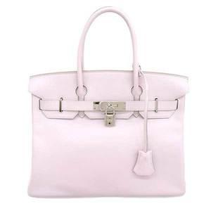 HERMES Hermes Swift Birkin 30 Handbag Rose Dragee □ K stamped leather