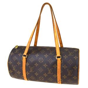 ルイ・ヴィトン(Louis Vuitton) モノグラム パピヨン 30 M51365 ハンドバッグ ブラウン