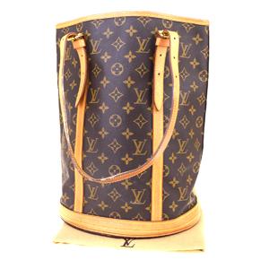 ルイ・ヴィトン(Louis Vuitton) モノグラム Bucket GM M42236 ショルダーバッグ ブラウン