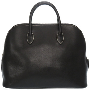Hermes Web Lise Black Handbag □ F Stamp 0009HERMES
