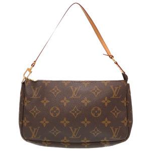 Louis Vuitton Monogram Pochette Accessoire M51980 Accessory Pouch Handbag Bag LV 0152 LOUIS VUITTON