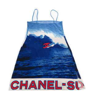 Chanel Surf Camisole Blue Vintage 0232CHANEL