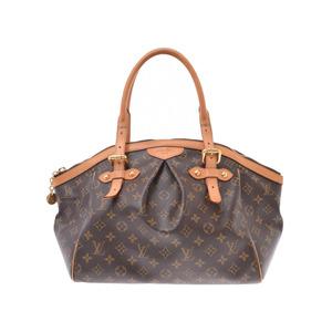 Louis Vuitton Monogram Tivoli GM Brown M40144 Ladies Genuine Leather Handbag B Rank LOUIS VUITTON Used Ginzo