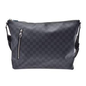 Louis Vuitton Graphite Mick MM Black N41106 Men's Genuine Leather Shoulder Bag New Beauty Goods LOUIS VUITTON Used Ginzo