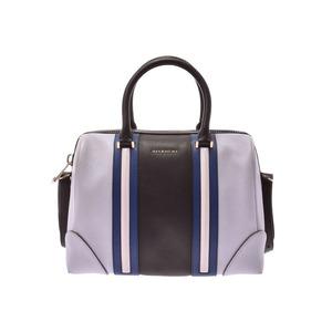 Givenchy Lucrezia Black / Grey Ladies 2WAY Boston Bag Leather A Rank Goods GIVENCHY Used Ginzo