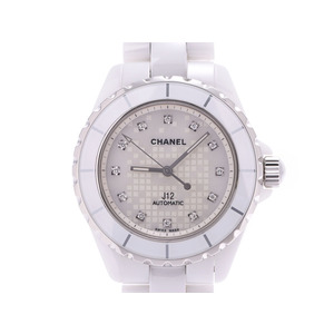 CHANEL J12 Diamond Ceramic Automatic Mens Watch H2512