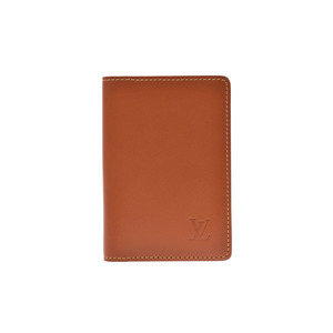 Louis Vuitton Nomad Organizer Dupoche Caramel M85011 Men's Genuine Leather Card Case New Goods LOUIS VUITTON Used Ginzo