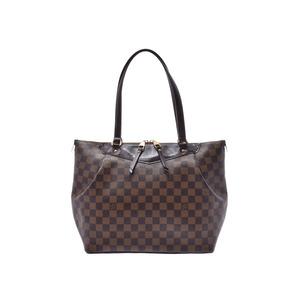 Louis Vuitton Damier Westminster GM Brown N41103 Ladies Genuine Leather Handbag B Rank LOUIS VUITTON Used Ginzo