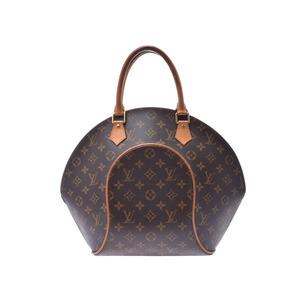 Louis Vuitton Monogram Ellipse MM Brown M51126 Ladies Genuine Leather Handbag B Rank LOUIS VUITTON Used Ginzo