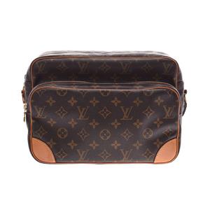 Louis Vuitton Monogram Nile Brown M45244 Ladies Genuine Leather Shoulder Bag B Rank LOUIS VUITTON Used Ginkura
