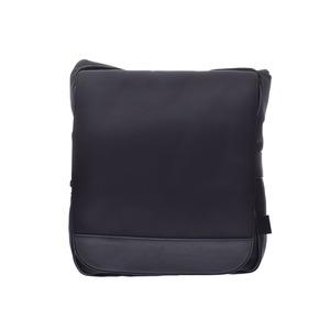 Dunhill Shoulder Bag Black Men Nylon AB Rank DUNHILL Used Ginkura