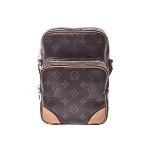 Louis Vuitton Monogram Amazon Brown M45236 Ladies Genuine Leather Shoulder Bag B Rank LOUIS VUITTON Used Ginzo