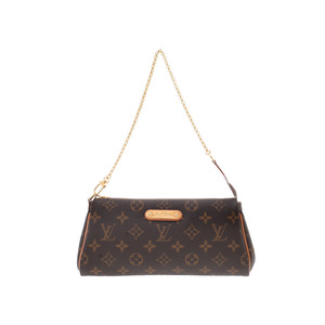 Louis Vuitton Monogram EVA Brown M95567 Women's Genuine Leather 2WAY Bag B Rank LOUIS VUITTON