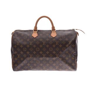 ルイ・ヴィトン(Louis Vuitton) ルイヴィトン モノグラム スピーディ40 ブラウン M41522 メンズ レディース ハンドバッグ ボストンバッグ ABランク LOUIS VUITTON 中古 銀蔵