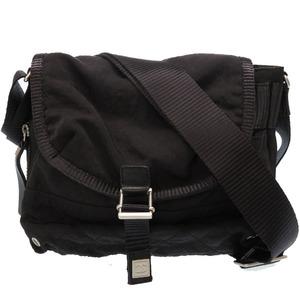 Chanel Sports Nylon Shoulder Bag Black 0127CHANEL