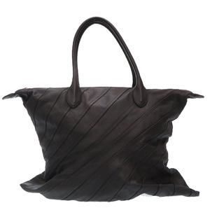 Loewe Junya Watanabe Com de Garcon Leather Tote Bag Black 0047LOEWE